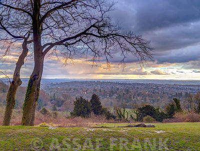 Reigate Hill, Surrey, UK