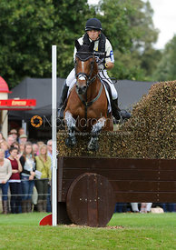 Sam Griffiths and PAULANK BROCKAGH - cross country phase,  Land Rover Burghley Horse Trials, 7th September 2013.