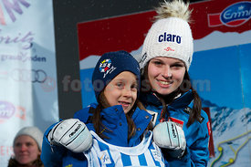 FIS Ski World Cup 2012/2013 Ladies in St.Moritz. Draw Starting Number Event