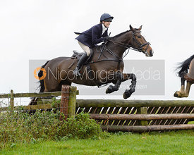 Isobel McEuen jumping a fence at Stone Lodge Farm