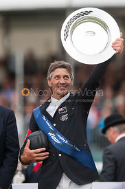 Andrew Nicholson - prizegiving ceremony - Land Rover Burghley Horse Trials 2012.