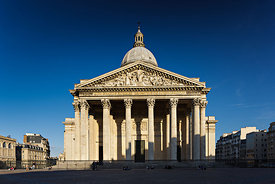 Pantheon's facade, Paris