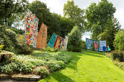 CAE HIR QUILTS IN THE GARDEN 2018 photos