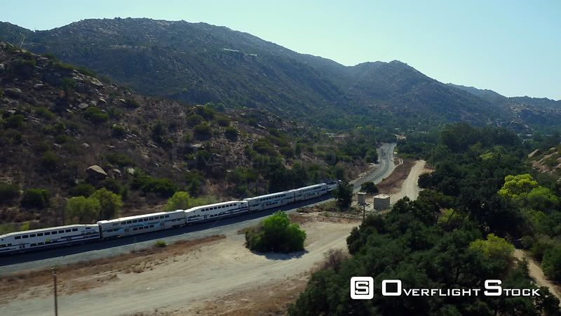 Amtrak Train California USA