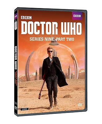 Doctor Who Series 9 DVD cover publicity photography