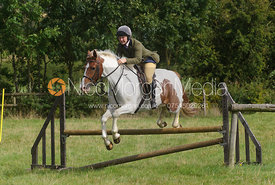 Holly Campbell - Cottesmore Hunt Relay, The Kennels, Ashwell, 1st September 2013.