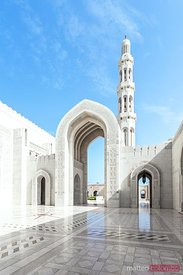 Oman, Muscat. Sultan Qaboos Grand Mosque