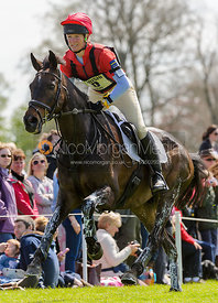 Beanie Sturgis and LEBOWSKI - Cross Country - Mitsubishi Motors Badminton Horse Trials 2013.