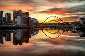 River Tyne Sunset