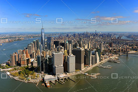 Classic View of Manhattan New York