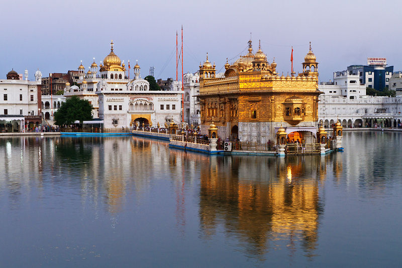 The Golden Temple at Dawn