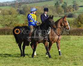 Geoff Bridges, Ursula Moore - The Melton Hunt Club Ride