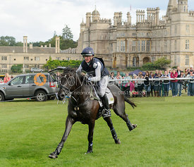 Nicola Wilson and OPPOSITION BUZZ - cross country phase,  Land Rover Burghley Horse Trials, 7th September 2013.