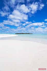 Honeymoon island, Aitutaki, Cook Islands