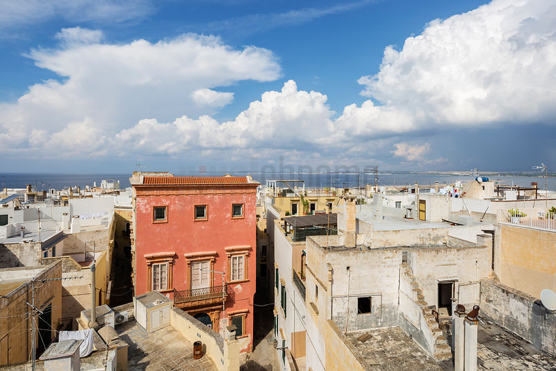 View from the Roof Terrace of Palazzo Senape de Pace