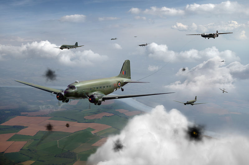 Dakotas and Horsas over Arnhem