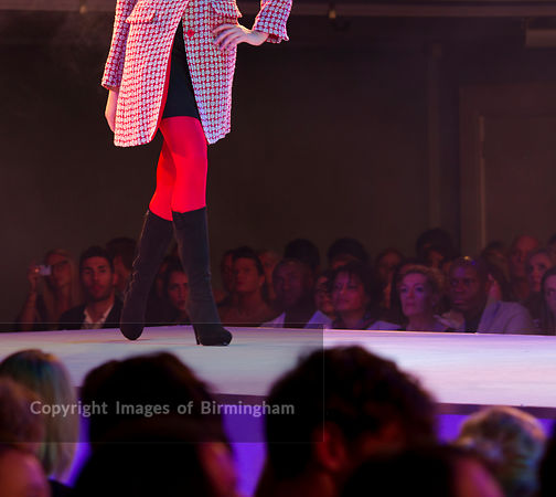Fashion Show at Birmingham Town Hall, England, UK (Editorial usage only, not for advertising usage).