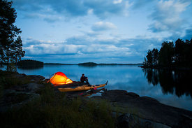Kayaker´s camp