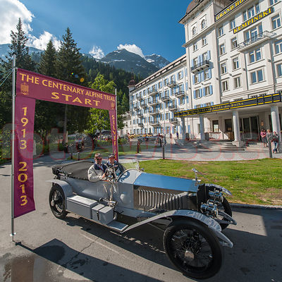 Centenary Alpine Trial 1913-2013 Rolls-Royce Start Hotel Kempinski photos