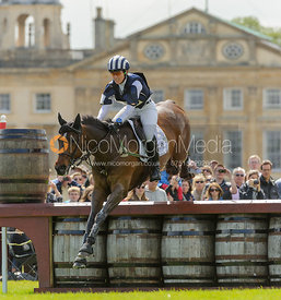 Caroline Powell and BOSTON TWO TIP- Cross Country - Mitsubishi Motors Badminton Horse Trials 2013.