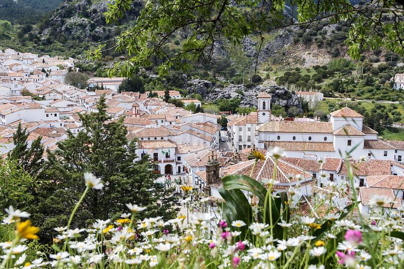 The Andalucían White Town of Grazalema