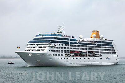 P & O's 175th Anniversay Sail-away photos