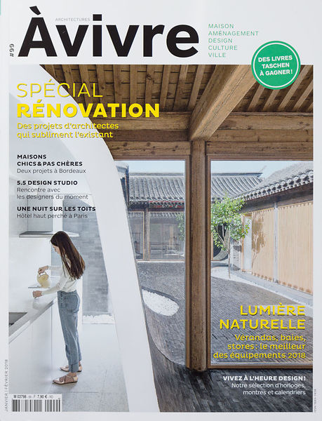 TEARSHEET À VIVRE JANUARY FEBRUARY 2018 architecture
