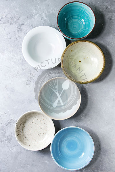 ceramic bowls collection