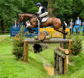 Pippa Funnell and BILLY WALK ON, Equitrek Bramham Horse Trials 2018