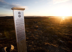 The Top of Stuorrahanoaivi, Point in Struve Geodetic Arc