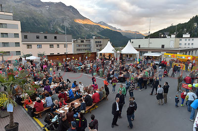 Stock St.Moritz City photos