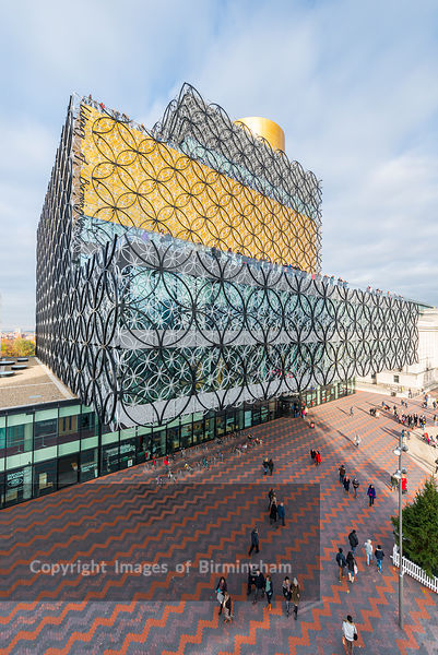 The new Library of Birmingham, England.