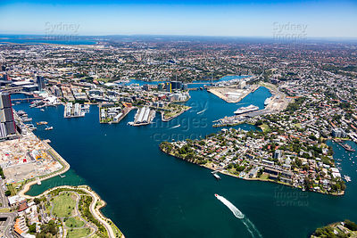 Balmain and Pyrmont