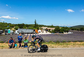 Luke Rowe, Individual Time Trial - Tour de France 2016
