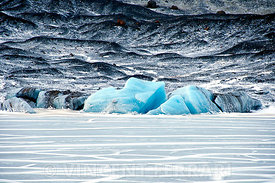 Ice and Black Sand