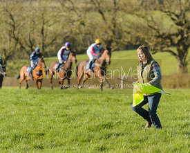 Davina West - The Belvoir Point-to-point 2017