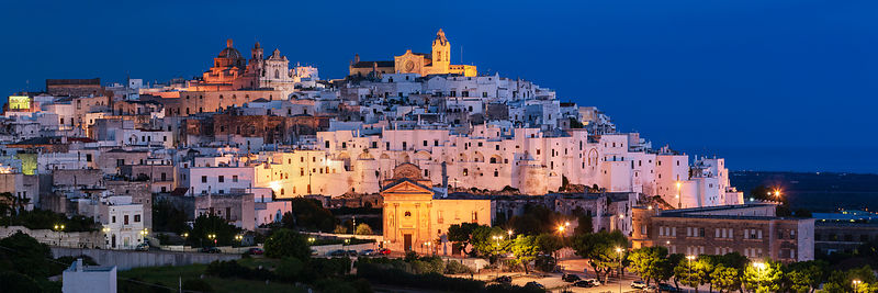 Ostuni Skyline at Dawn