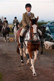William Bell - The Cottesmore at Sawgate Lane, Burton Lazars, Leicestershire, 24/9/11