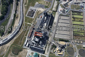 Yorkshire Water Blackburn Meadows Waste Water Treatment Plant Tinsley Sheffield