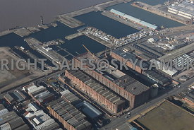 The Tobacco Warehouse and Stanley Docks and Collingwood Docks and Clarence Graving Docks Liverpool Water Vauxhall Liverpool