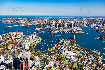 McMahons Point and Sydney City