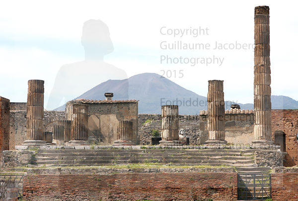 Pompeii & Vesuvius Art Photographs