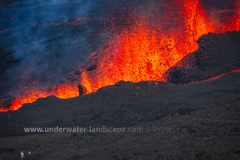 Eruption of 31 July 2015 éruption piton de La Fouraisse
