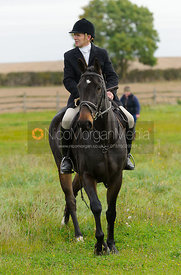 at the meet - The Cottesmore Hunt at Toft 27/10