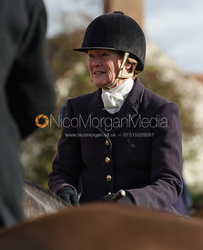 Lady Sarah McCorquodale - The Belvoir Hunt at Hose