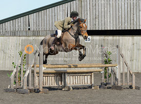 Class 4 - 90cm - Cottesmore Pony Club Eventer Trial 25/3/16