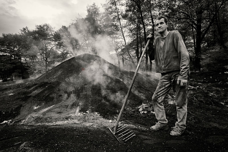 Portrait of Eugen the Charcoal Maker