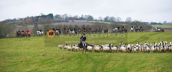 Russell the Shepherd - The Cottesmore at John O'Gaunt 24/11/12
