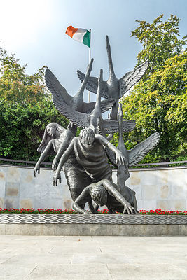 Children Of Lir Sculpture, Garden of Remembrance (Vertical 2)- Dublin, Ireland