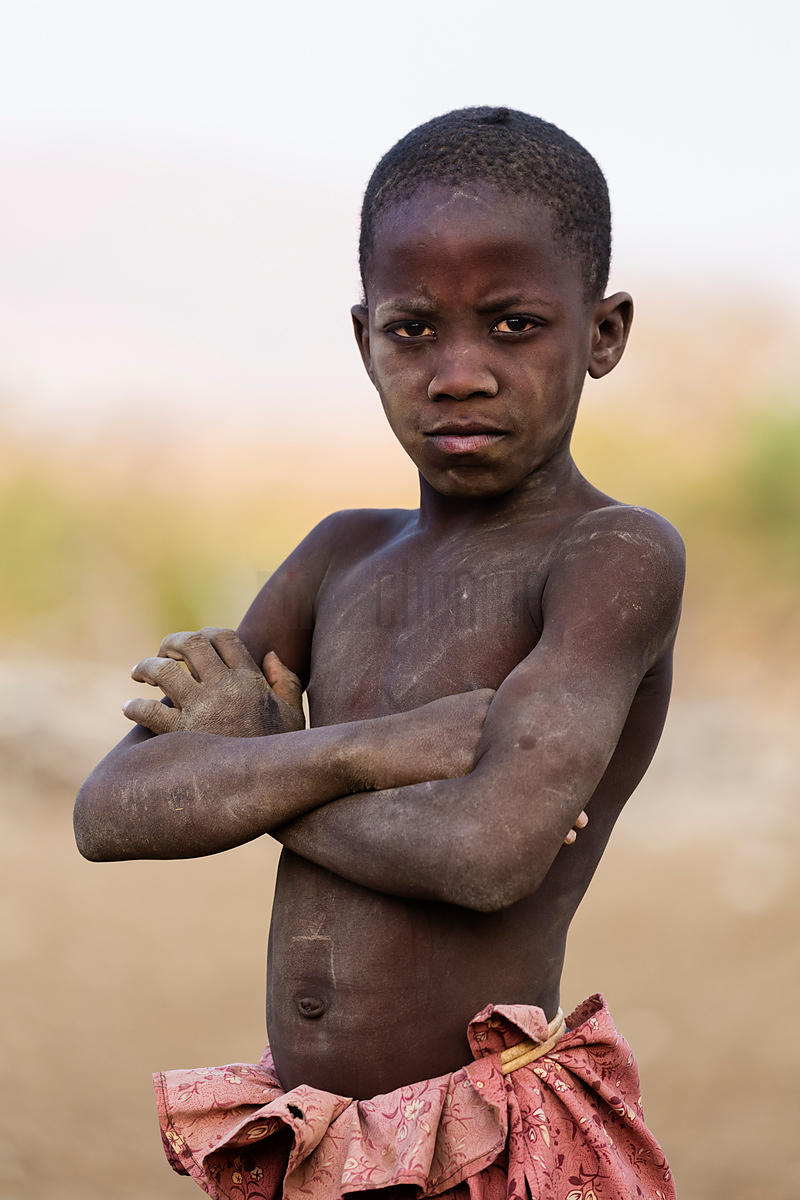 Portrait of a Himba Boy